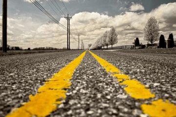 סימון כבישים וחידוש שכבת צבע כתנאי לשמירה על בטיחות בדרכים
